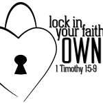 Lock in your faith.